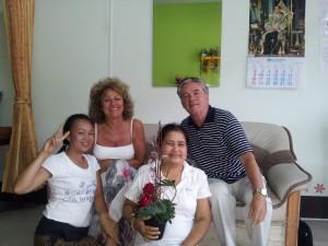 Thaiföldi tanáraikkal Bangkokban